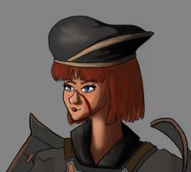 MMORPG Series - Picture 2: FFXI Headshot WIP by mistformsquirrel