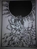 Benu's Kagaho - Saint Seiya Lost Canvas by Jonathan91