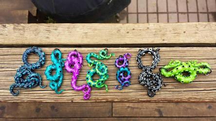 Tentacle pendants by xtheungodx