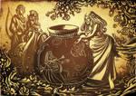 Persephone Myth II - Sharp Arrow by LauraBevon
