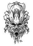 Tribal Mask by LauraBevon