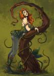 [Trinquette - Fanart] Poison Ivy by LauraBevon