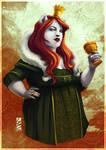 Commission #5 - Poppy by LauraBevon