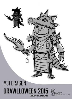 DH31 dragon by laurabevon by LauraBevon