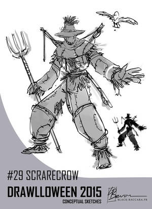 DH29 scarecrow by laurabevon by LauraBevon