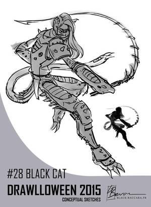 DH28 blackcat by laurabevon by LauraBevon