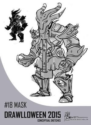 DH18 mask by laurabevon by LauraBevon