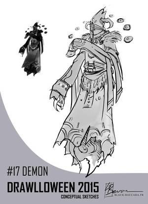 DH17 demon by laurabevon by LauraBevon