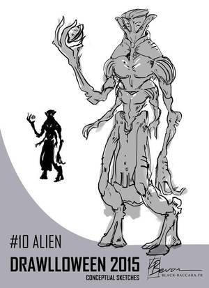 DH10 alien by laurabevon by LauraBevon