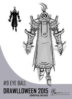 DH9 eyeball by laurabevon by LauraBevon