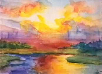 Landscape by ArtistHanna