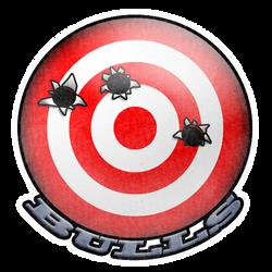 bullseye (sticker) by KitLightning