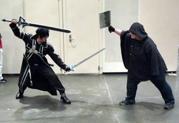 Kirito vs Laughing Coffin PK by madboxkid