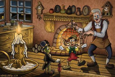 Pinocchio by vonblood