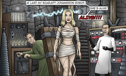 Dr Gilbertstein by vonblood