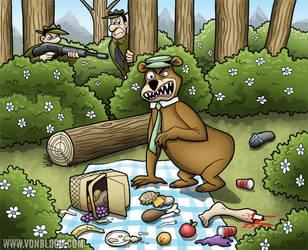 Rabid Bear by vonblood