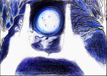 The Moon by CloudyxDreamer