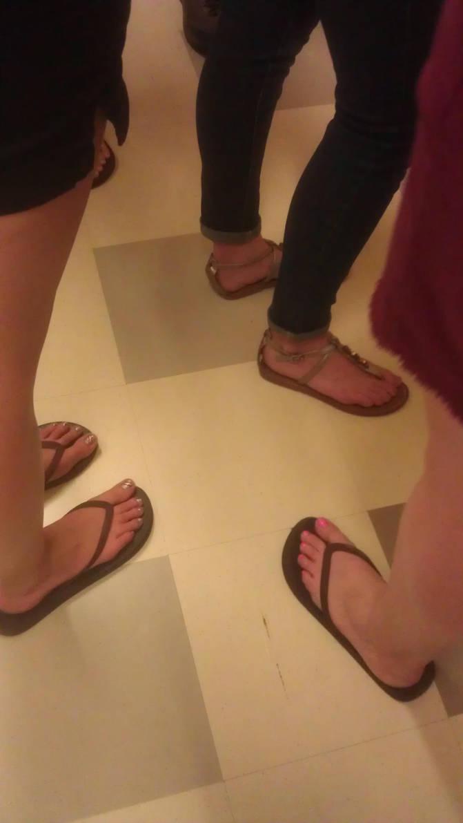 Hallway feet buffet by schizoknight12