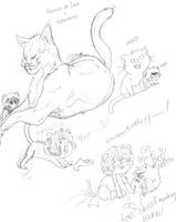 Nepeta doodles by Dark-Slifer
