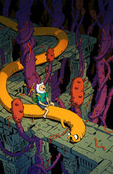 Adventure Time Comics #25 Subscription Cover by pijus