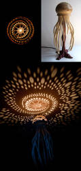 Medusa Lamp - 2 by Arcangelo-Ambrosi