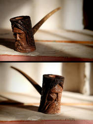 Ancient Tree Spirit Pipe by Arcangelo-Ambrosi