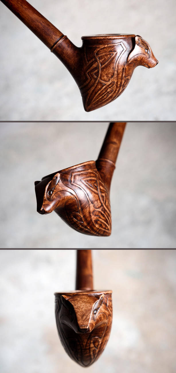 Badger pipe by Arcangelo-Ambrosi