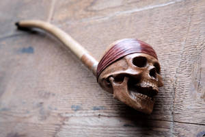 Blackbeard's pipe by Arcangelo-Ambrosi