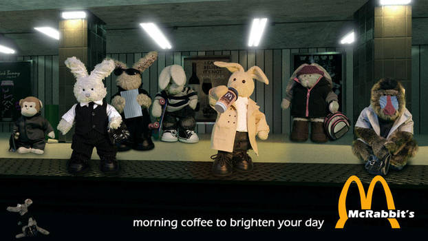 McRabbit's Morning Coffee by zackaryrabbit