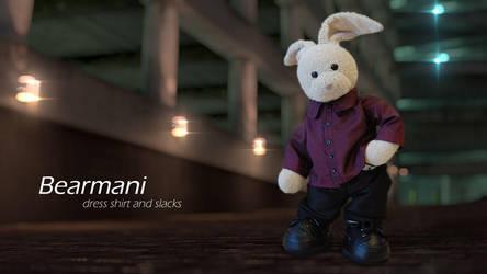 Bearmani Ad 3 by zackaryrabbit