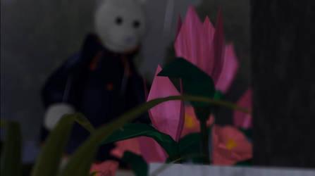 Origami flowers by zackaryrabbit