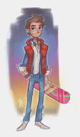 Marty Mcfly by DaveJorel