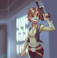 Hana Solo by DaveJorel