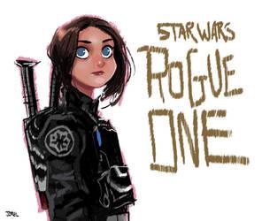 Rogue One: A Star Wars Story Fan Art by DaveJorel