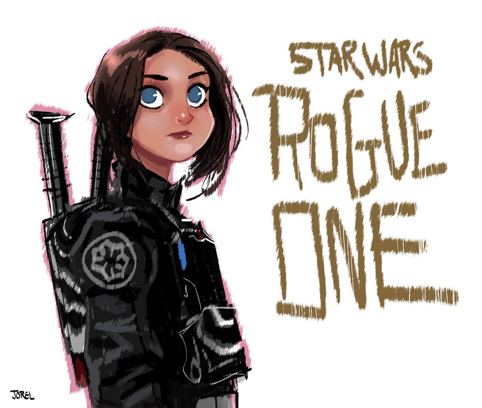 Rogue One: A Star Wars Story Fan Art by DaveJorel