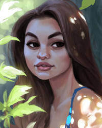 Olivia Brower by DaveJorel