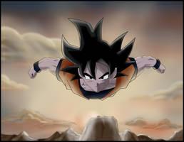 Goku by POLYKRPIO