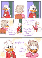 ''After the Ball'' Page 3 - Uncle Scrooge comics by Koizumi-Marichan