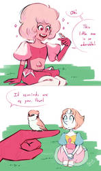 ''Reminds me of you'' - Steven Universe by Koizumi-Marichan