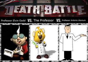 Professor E. Gadd vs. The Professor vs Professor U by xFlowerstarx