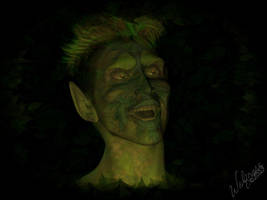 Vision of the Green Man by KayoteWolfrose