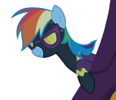 Rainbow Dash disguised by ShayminOnEarth