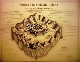Elthos Celestial Island Map by ElthosRPG