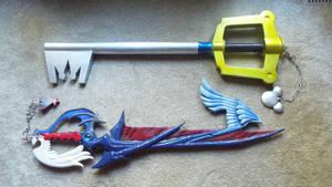 Two Keyblades by finaformsora