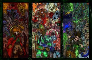 Morrowind Doom n Unreal assholes by psychoBookwyrm