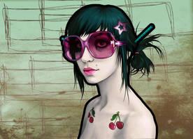 Sunglassess and set free by EnjoyPorno