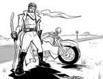 Highwayman OC 016 by ADE-doodles