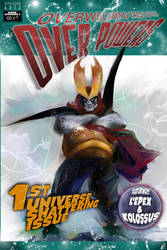 OverPowers  #1 Cover by ADE-doodles