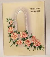 Vintage German Sympathy Card 1 by kibbecat
