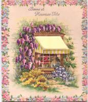 French Birthday Card by kibbecat